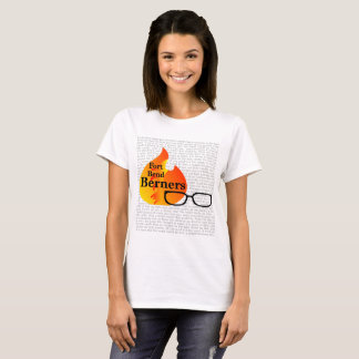 Womens t-shirt for Fort Bend Berners - light color