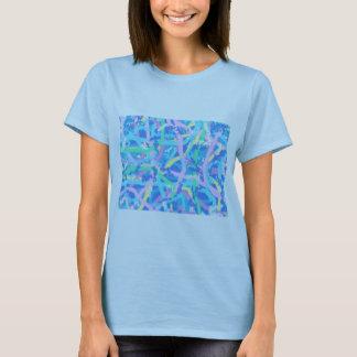 Women's T-shirt Seaweed2 Sunlit Water Bubbles