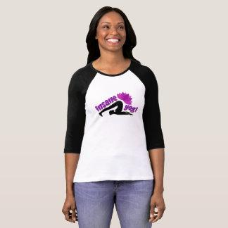 Women's T-Shirt with Insane Yogi sign