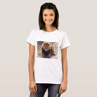 Women's t-shirt with lion