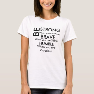 Womens T-shirt With Phrase