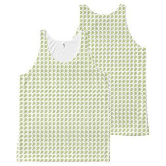 Women's_Tank-Tops_Leaves-Pattern-Green All-Over Print Singlet