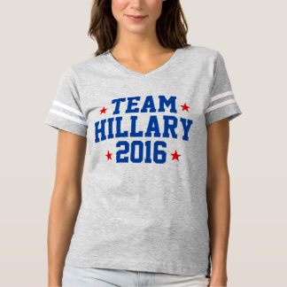 "Women's ""TEAM HILLARY 2016"" Jersey T-shirt"