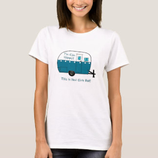 WOMEN'S TEE | Retro Camper Trailer