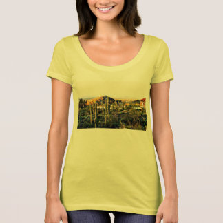 Women's Tee Shirt Cave Creek Landscape