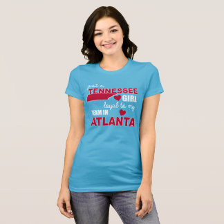 Women's Tennessee T-Shirts:  Just A Tennessee Girl T-Shirt