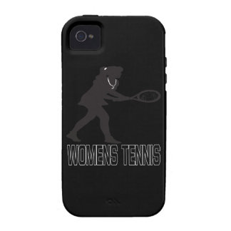 Womens Tennis Vibe iPhone 4 Cases