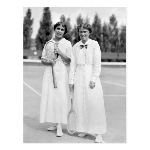 Women's Tennis Champions, 1913 Post Card