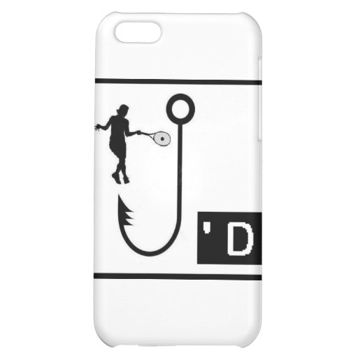 Womens Tennis Hooked Case For iPhone 5C
