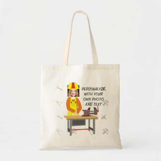 Women's Tote Bag - Personalyze with Photo and Text