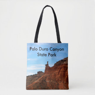 Women's Tote Bag with picture of Palo Duro Canyon.