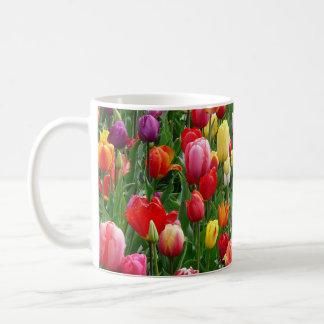 women's trendy spring flower mug
