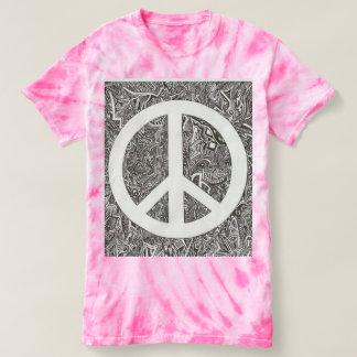 Women's Tye Dye Peace Shirt