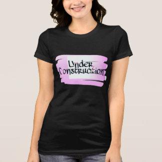 Women's Under Construction Jersey Tshirt