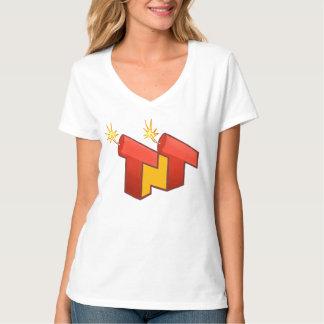 Women's V-Neck (LOGO) T-Shirt