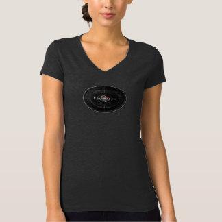 Women's V-neck Logo-T T-Shirt