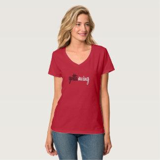 Women's V-Neck T Shirt