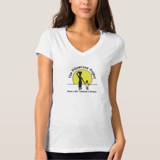 Women's V-Neck T-Shirt - White