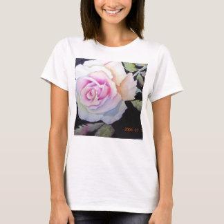 Women's watercolor rose cami T-Shirt