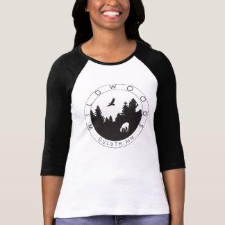 Women's Wildwoods Logo 3/4 Sleeve T T-Shirt