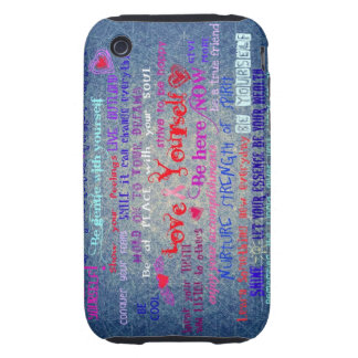 Women's Wisdom see matching bag, journal & cases Tough iPhone 3 Case