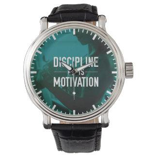 Women's Workout - Discipline Beats Motivation Watch