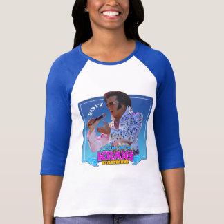 Women's XL 3/4 Sleeve Jersey T-Shirt