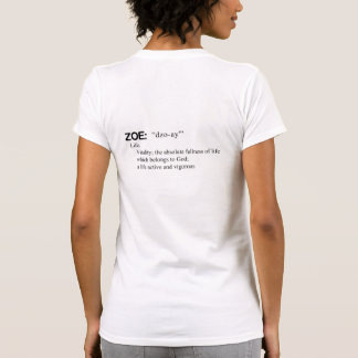 Women's ZOE Outfitters White T-Shirt