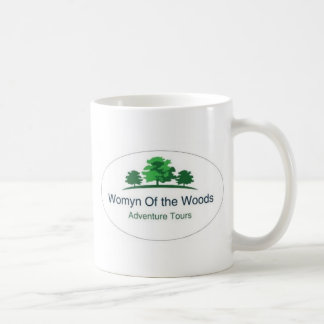 Womyn of the Woods active wear and mugs
