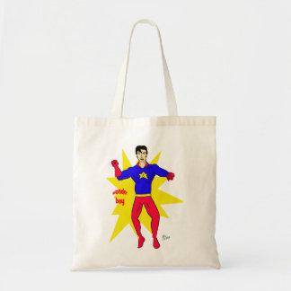 Wonder Boy Tote Bags