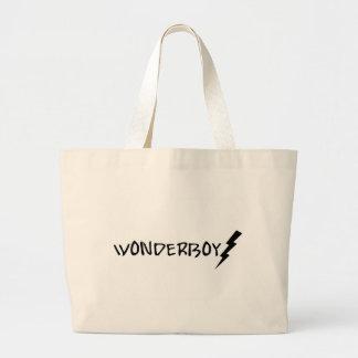 Wonder Boy Black Lightening Bag