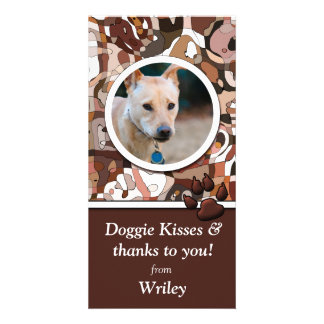 Wonder Dog Custom Photo Card
