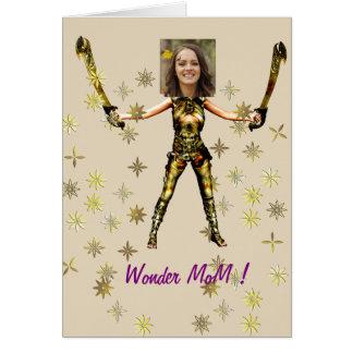 Wonder Fairy Princess, Swords - Insert YOUR Photo- Card