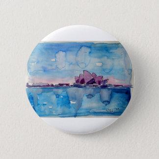 Wonder from Downunder Sydney 6 Cm Round Badge