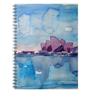 Wonder from Downunder Sydney Notebook