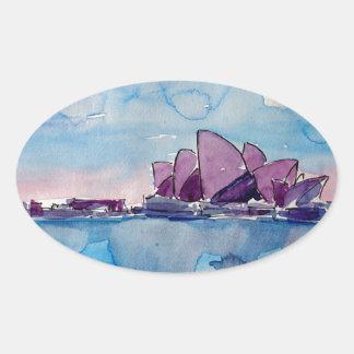Wonder from Downunder Sydney Oval Sticker