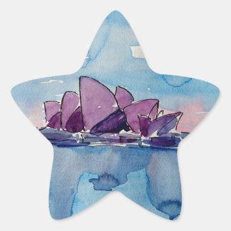 Wonder from Downunder Sydney Star Sticker