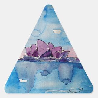 Wonder from Downunder Sydney Triangle Sticker