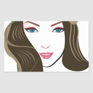 Wonder Girls Rectangular Sticker