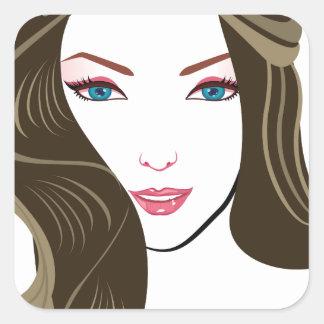 Wonder Girls Square Sticker