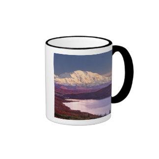 Wonder Lake and Mt. Denali at sunrise in the Ringer Mug