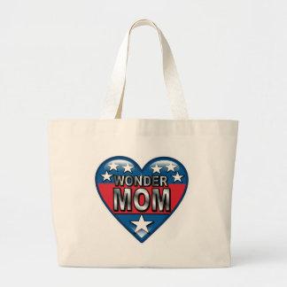 Wonder Mom Canvas Bags