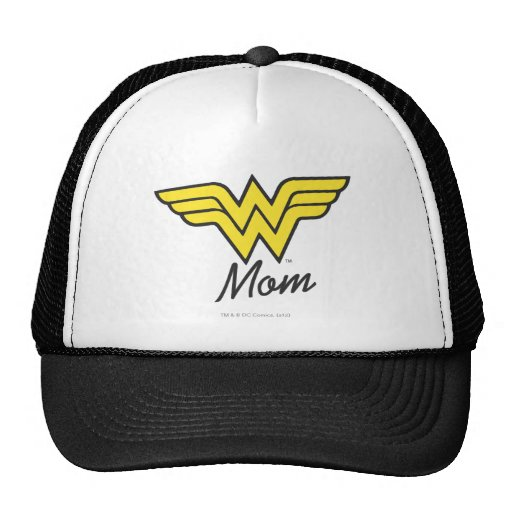 Wonder Mom Classic Mesh Hat