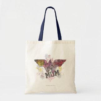 Wonder Mom Mixed Media Budget Tote Bag