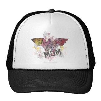Wonder Mom Mixed Media Trucker Hats