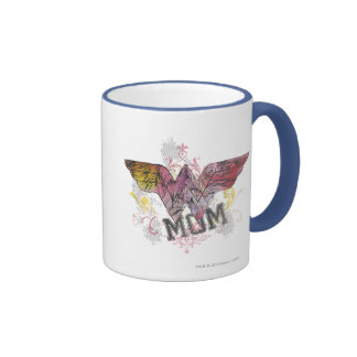 Wonder Mom Mixed Media Mug