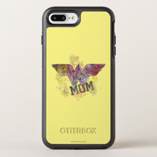 Wonder Mom Mixed Media OtterBox Symmetry iPhone 7 Plus Case