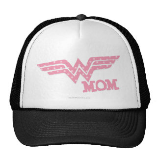 Wonder Mom Pink Trucker Hats