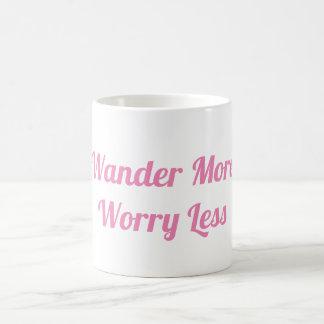 Wonder More and Worry Less Mug