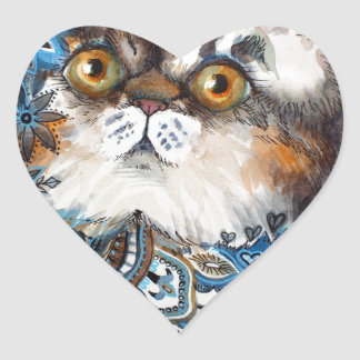 Wonder of Persia Heart Sticker